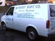 Sunburst Boat Co. Van